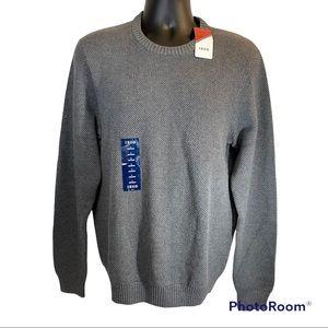 🆕 Izod Carbon Heather Sweater Mens Large